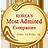 GS리테일은 한국에서 가장 존경받는 기업에서 편의점부문을 16년 연속 1위를 했으며 이미지는 한국에서 가장 존경받는 기업 마크입니다.